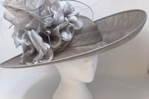 bespoke hat grey