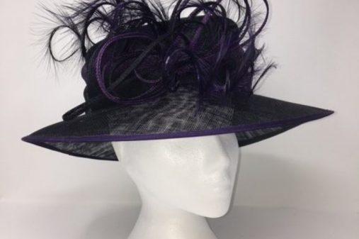 black purple hat um1 lip off