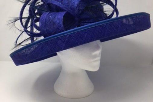 dark blue bespoke hat