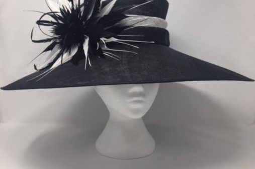 large black hat