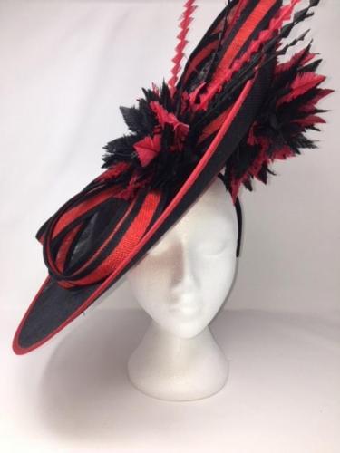 Scarlet <br>Fascinator <br> £288.00