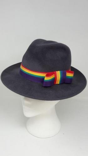 Trilby 1 <br> Peachbloom Hat <br> £120.00