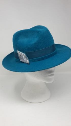 Trilby 1 <br> Peachbloom <br> Velour Hat <br> £120.00